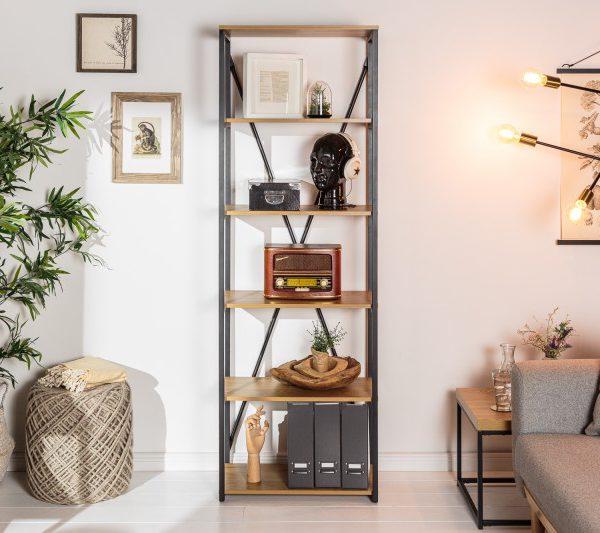 Regal Studio 180cm Eiche-Optik/ 40627